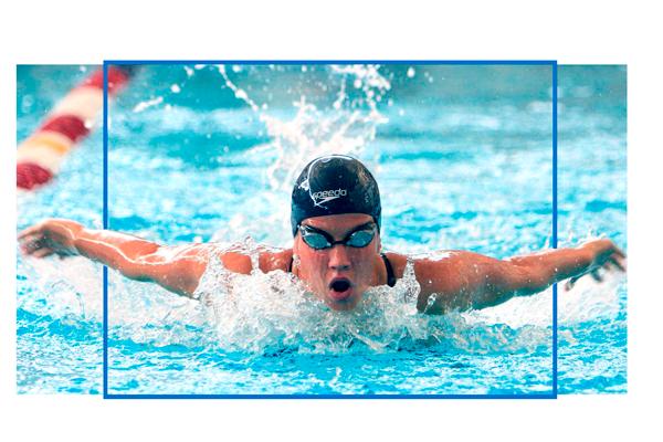 Becas de natación